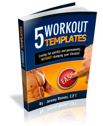 hassle free fat loss workout templates